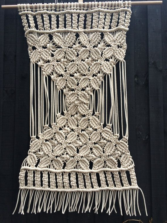 Handmade large macrame wall hanging by LittleCorrie on Etsy