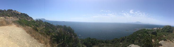 El estrecho de Gibraltar, Algeciras