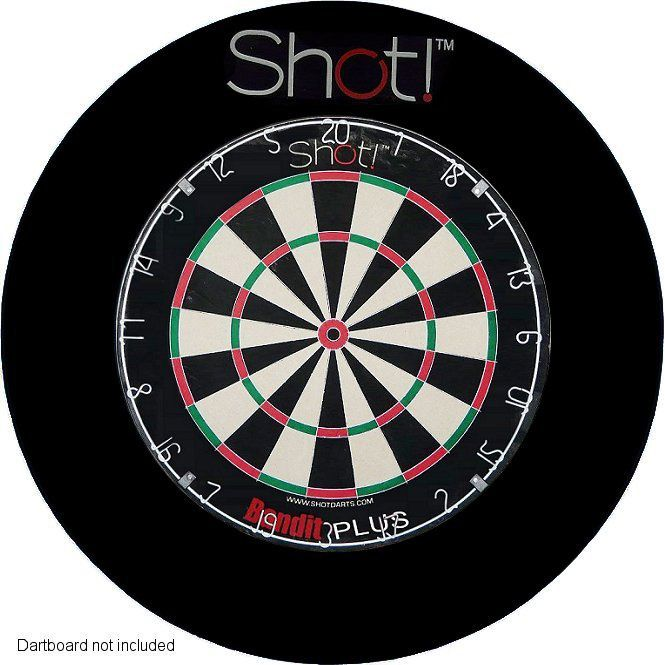 Check out the deal on Shot! 4 piece Dartboard Surround at A-Z Darts