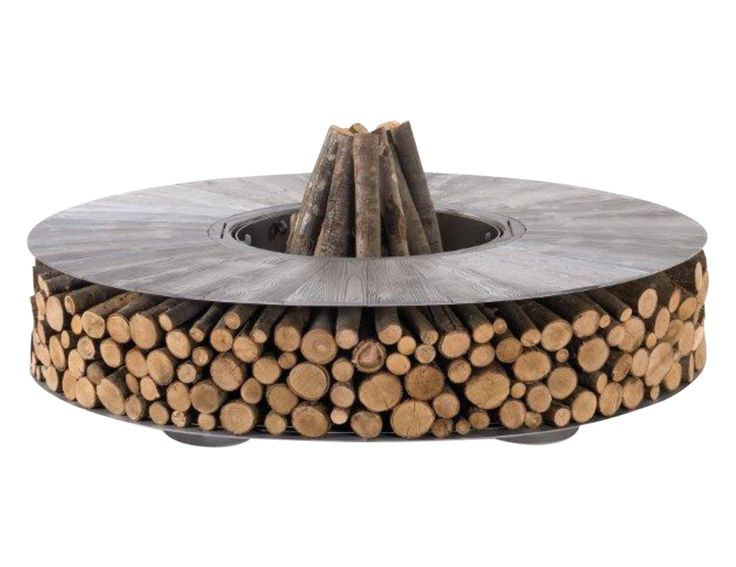 Buy NEW Zero Fire Pit (Aluminum) by Design Collectif - Made-to-Order designer Accessories from Dering Hall's collection of Contemporary Rustic / Folk Industrial Organic Fireplace Mantels & Accessories.