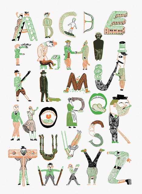 L'Articho Alphabet by John_Broadley,   via: http://www.flickr.com/photos/63933970@N00/5800386083/in/photostream/