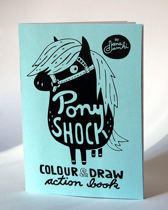 Libro da colorare PONY SHOCK di danadamki colore & di danadamki
