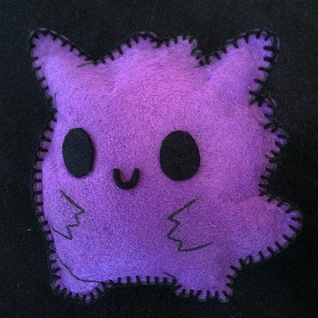 Baby Gengar (´ ▽`).。o♡ Based in x-SquishyStar-x #Gengar #pokemon #anime…