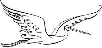 Znalezione obrazy dla zapytania stork drawings