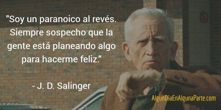 """El 1 de enero de 1919 #TalDíaComoHoy nació el escritor estadounidense Jerome David Salinger, autor de """"El guardián entre el centeno"""""""