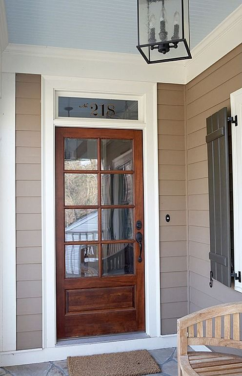 17 best images about exterior doors on pinterest cape for Front door with window on top