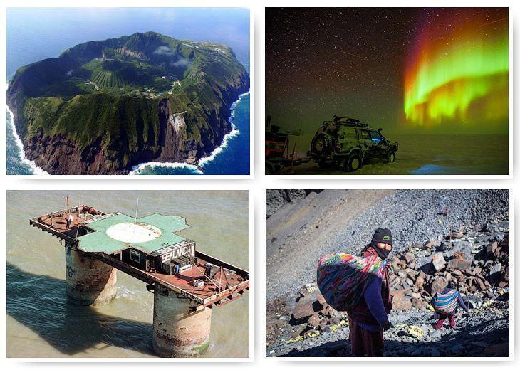 Планета Земля и Человек: Самые странные места для жизни