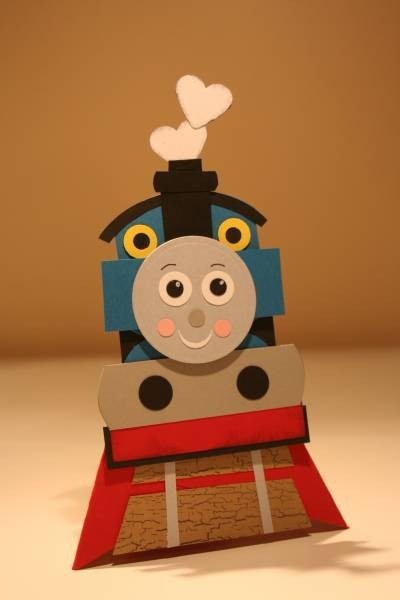 #thomas the train cards-boy