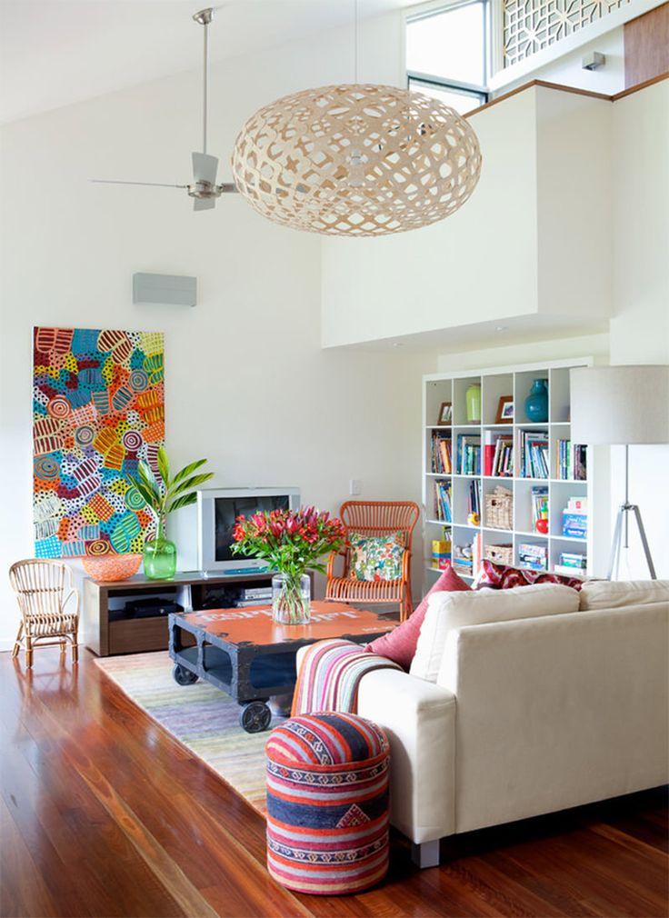 Truques de disposição de móveis para sua sala de estar - limaonagua