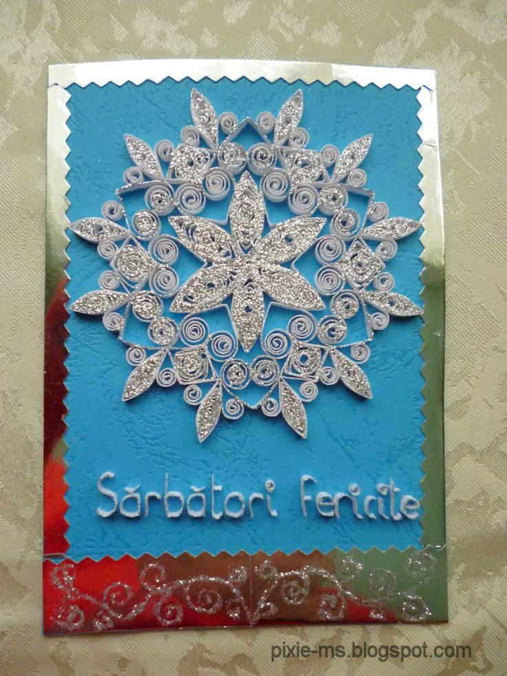 handmade Christmas cards / kézműves karácsonyi üdvözletek