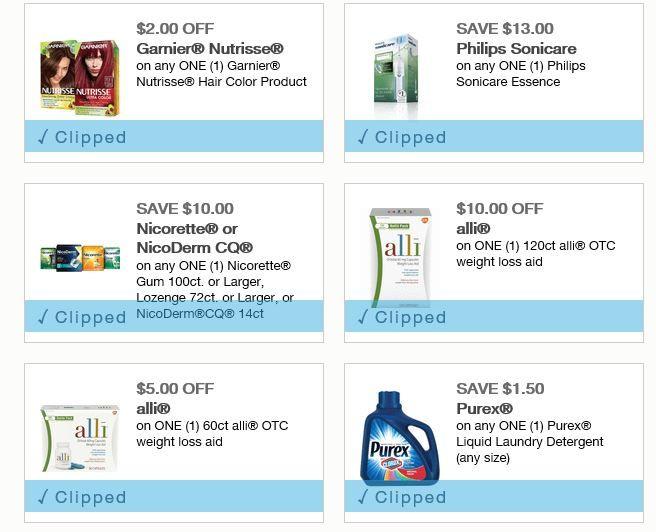 New Philips, Nicorette, Garnier Coupons & More http://simplesavingsforatlmoms.net/2017/12/new-philips-nicorette-garnier-coupons.html