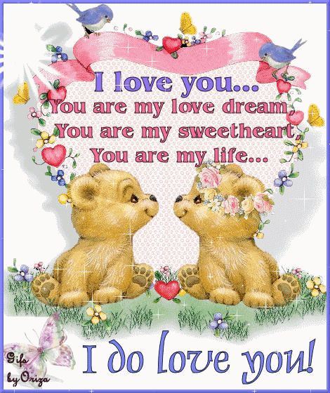 I Love You Cartoon | great collection of I love you image scraps, glitter images, i love ...