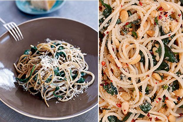 Try out this delicious zesty Lemon and Chilli creamy spaghetti, perfect for vegetarians.