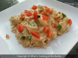 What's cooking in the burbs: Creamy Garlic Lime Salsa Chicken (Crock Pot)