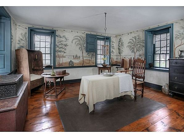 1750 Colonial Era – 115 Old River Rd, Milford, NJ 08848 Beautiful Del. riverfront historic Pursley's Ferry House & former Tavern c.1750.