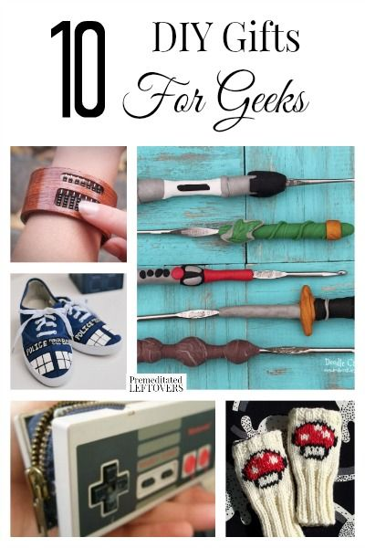 DIY Gifts Looking For Great Geeky You Can Make Yourself Here Are 10 Geeks To Knock The Socks Off Your Loved One