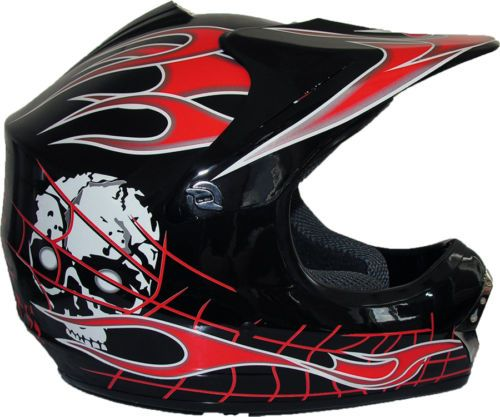 Childrens-Kids-MOTOCROSS-Crash-Helmet-by-Qtech-BLACK-KNIGHT-Off-Road-Dirt-Bike £29.95 01270 841877