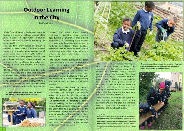 Outdoor Learning in the City