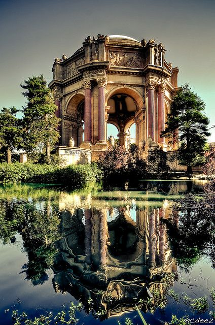 Palace of Fine Arts, San Francisco: San Francisco California, Favorit Place, Golden Gates Parks, Sanfrancisco, Palaces, Fine Art, Beauty, Travel, Wonder Place