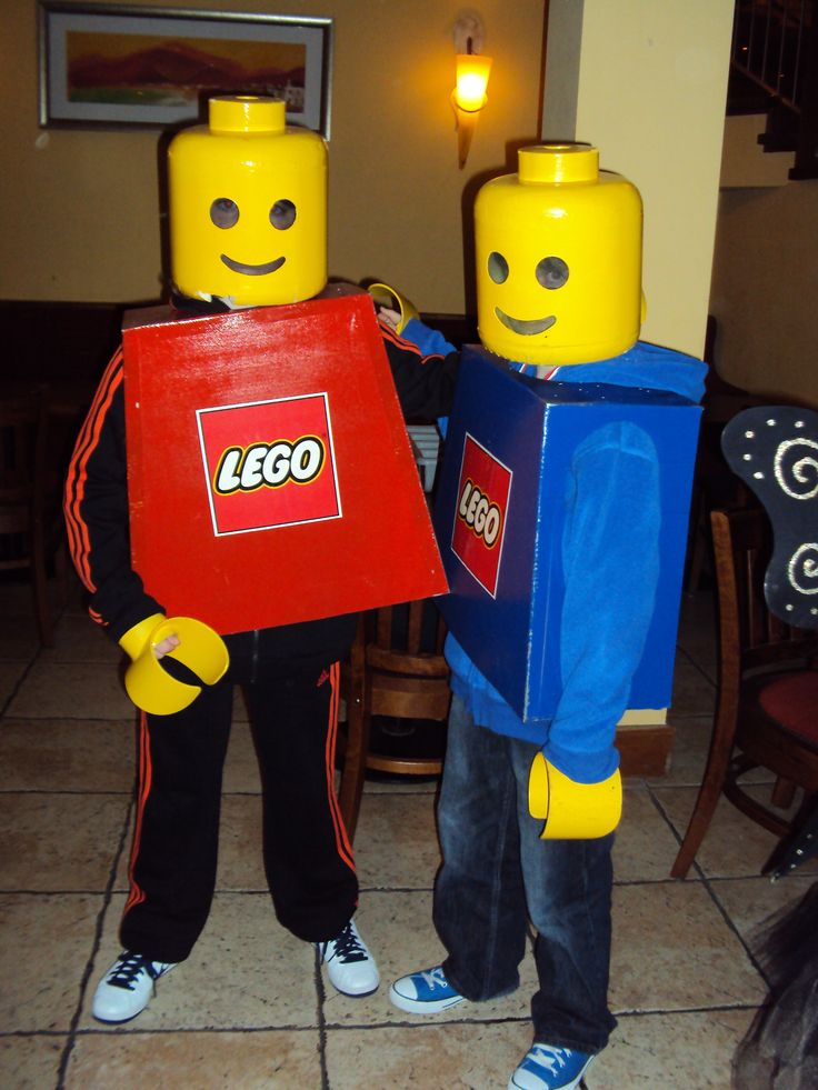 Lego Costumes Homemade