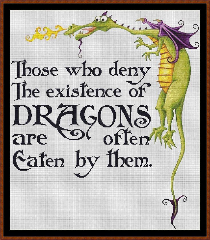 Dragon Lore Cross Stitch - Click Image to Close