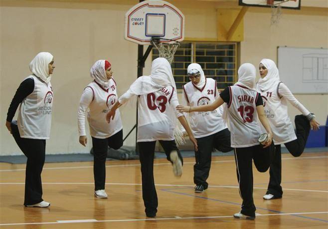 Saudi Arabia_basket ball team  ......and for the Olympics ?