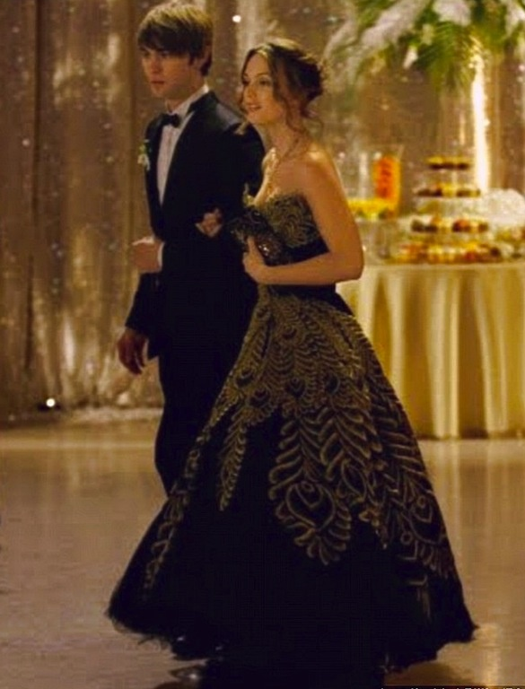 blair waldorf formal dress - photo #7
