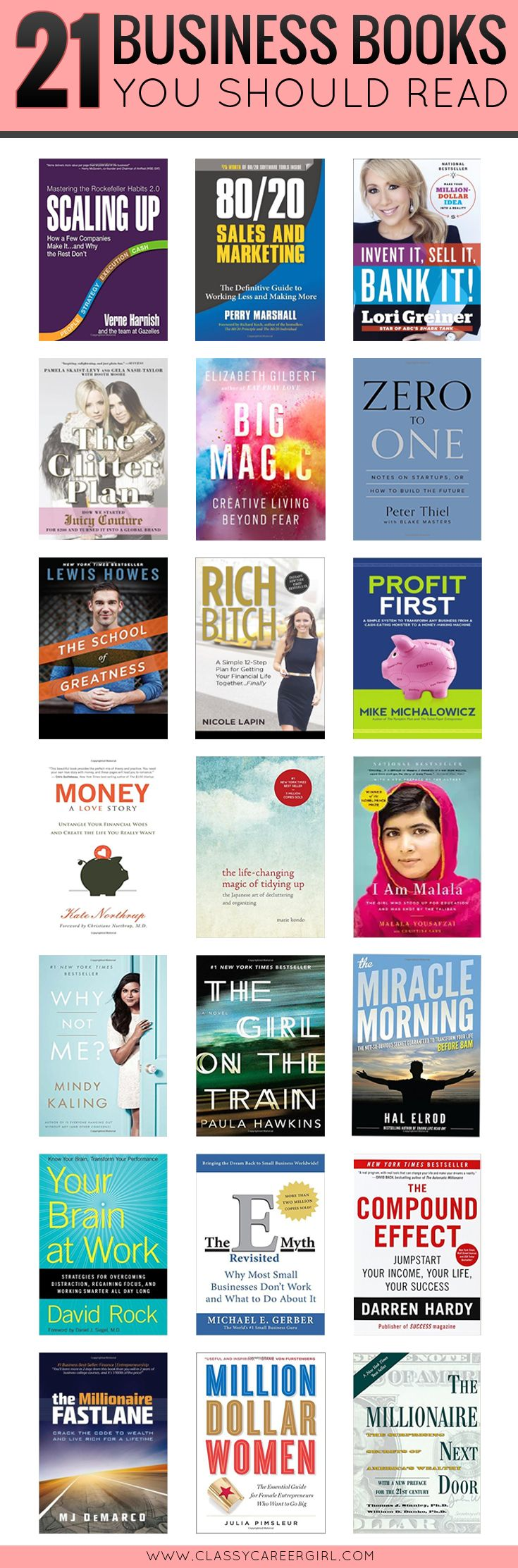 Stop whatever you are doing and save this pin! These are must reads.