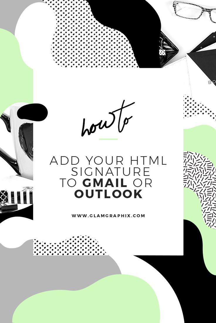 email signature, entrepreneurship tips, gmail signature, outlook signature, blog signature