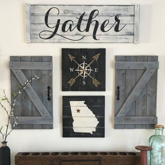 Rustic Hallway Wall Decor : Best ideas about rustic gallery wall on