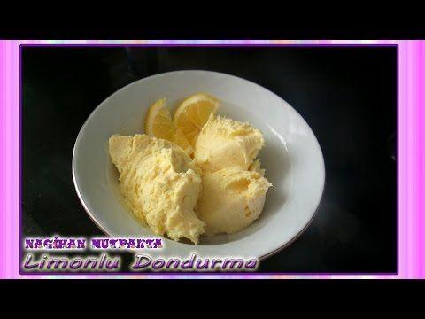 Limonlu Dondurma Tarifi-Limonlu Dondurma Yapımı-Limonlu Dondurma Nasıl Yapılır?-Dondurma Tarifleri - YouTube
