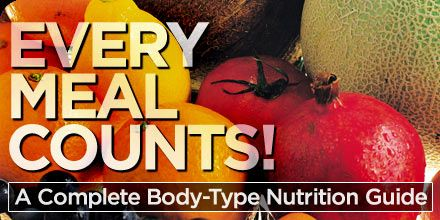 Every Meal Counts: A Complete Body-Type Nutrition Guide from Bodybuilding.com. Great read!