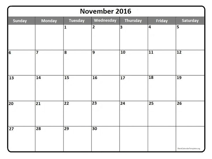 The 25+ best November 2016 calendar printable ideas on Pinterest - microsoft word weekly calendar