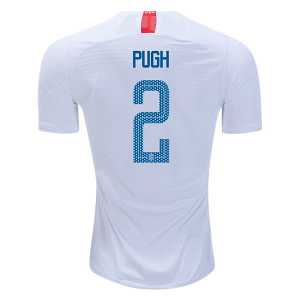 dc144fd15ca 18 19 Mallory Pugh Jersey Home Replica Men s USA National Team ...