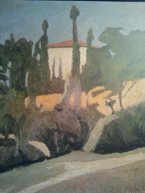 Georgio Morandi, paysage.