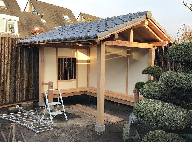 Houten Huizen Japanese Garden Japanese Garden Landscape Zen Garden Design