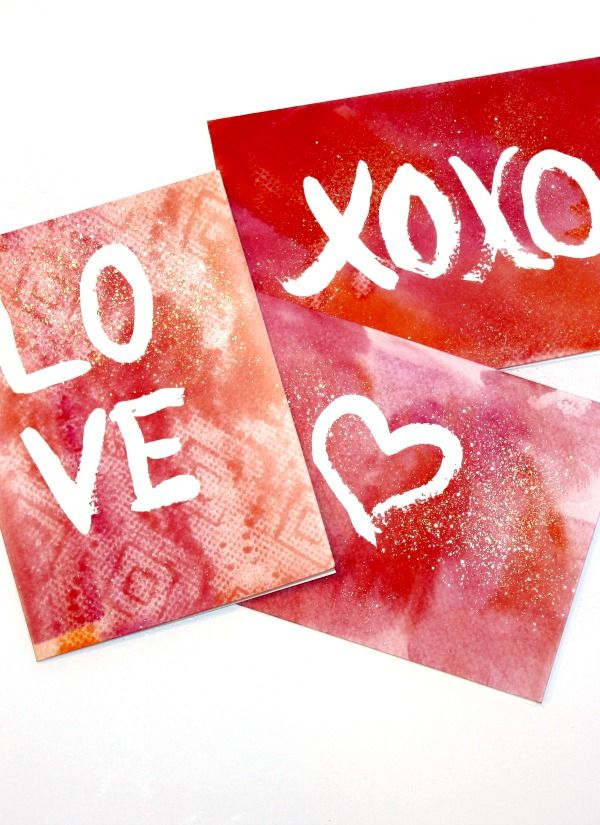 25 best ideas about Diy valentines cards – Easy Handmade Valentine Cards