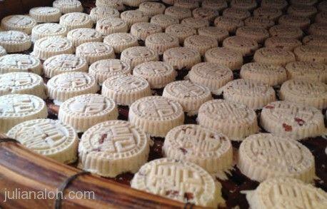 Almond Cookies from Koi Kei  http://www.chowzter.com/fast-feasts/asia-pacific/Macau/review/Koi-Kei/Almond-Cookies/5339_5386