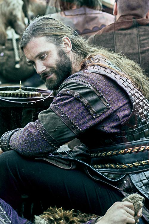 ROLLO ~ The Viking who actually went on to become the 1st Duke of Normandy and great-great-great grandfather of William the Conqueror. He was also not related to Ragnar. (huge difference in time!)