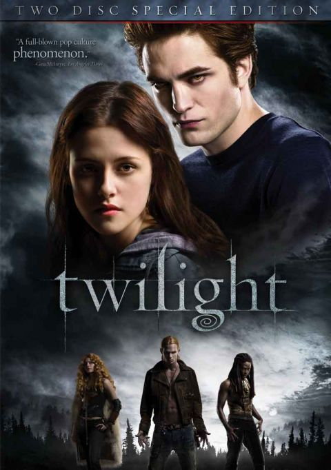 My daughter read the books & made me watch the first Twilight movie with her. Guess what! I got hooked! Loved them all.