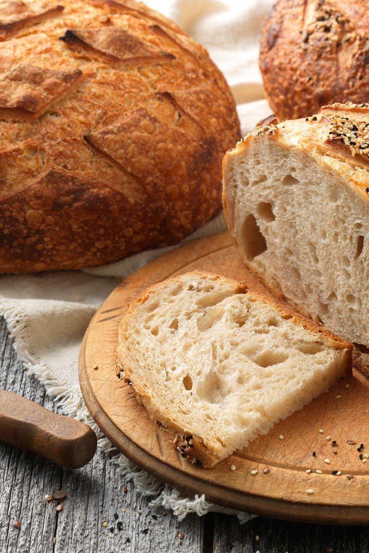 Artisan Sourdough Bread made with a stiff starter Recipe