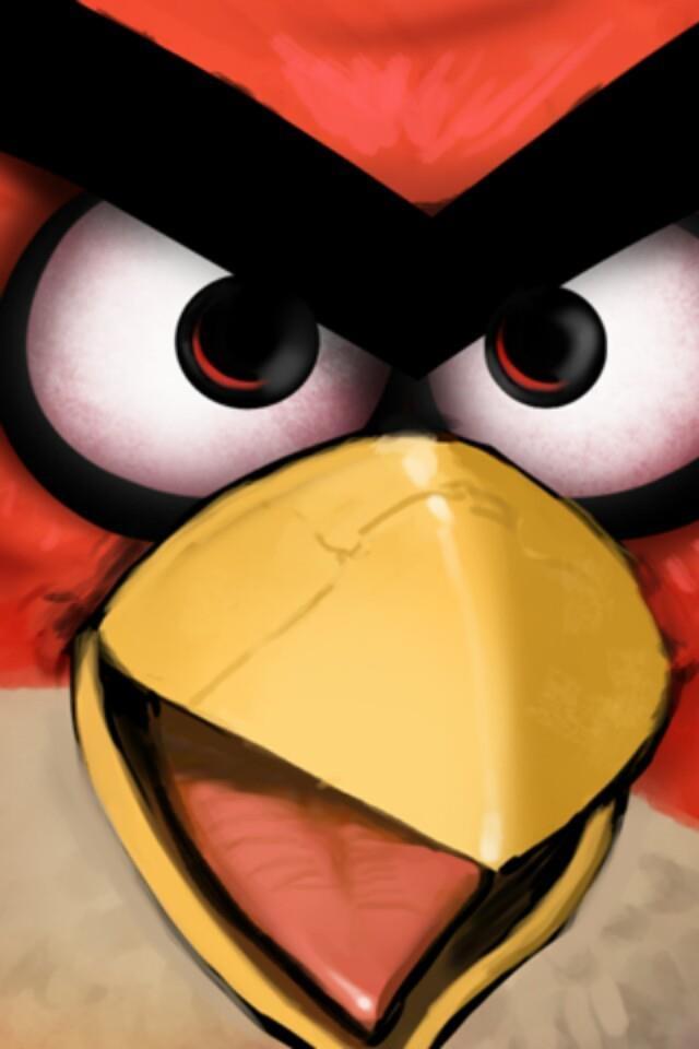 Another Angry Bird Mobile WallpaperBird