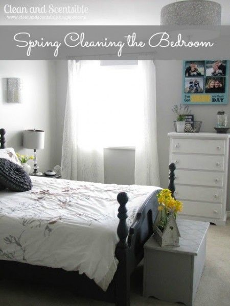 Spring Cleaning the Master Bedroom and BIG giveaway! - Clean and Scentsible