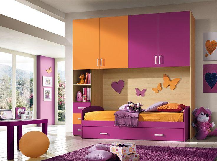 Modern Italian Kids Bedroom Composition VV S012RO - $1,999.00