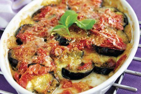 Μελιτζάνες+με+τυριά+στο+φούρνο