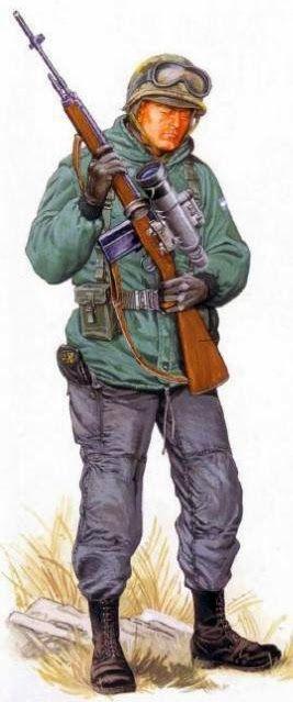 Francotirador, Argentina Regimiento de Infantería 24