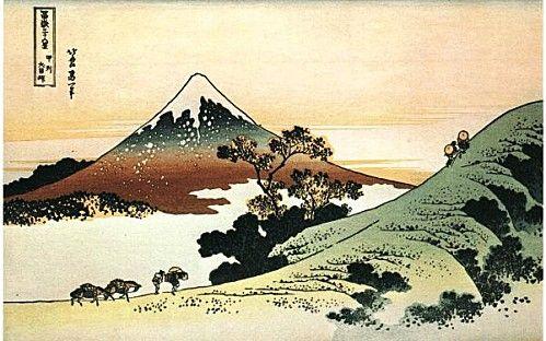 Hokusai - Les 36 vues du mont Fuji