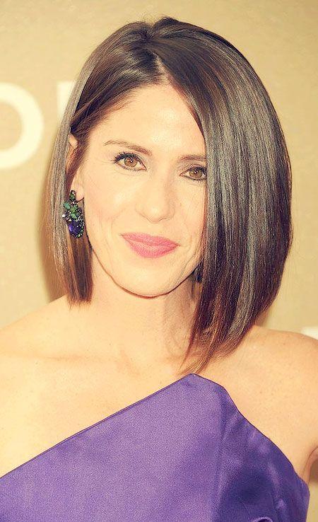 Celebrities Asymmetrical Haircut