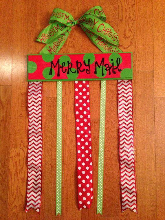 Merry Mail Christmas Card Holder is the perfect way to display your beautiful Christmas cards received from family and friends during the holiday