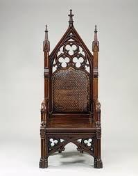 ancient gothic furniture